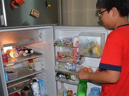 Vi khuẩn nổi tiếng nhất tá túc trong tủ lạnh là Campylobacter gây rối loạn hệ tiêu hóa Ảnh: TẤN THẠNH